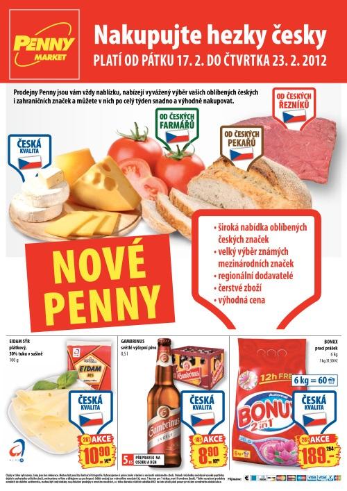 Leták Penny Market  (od 17.2. do 23.2.2012)