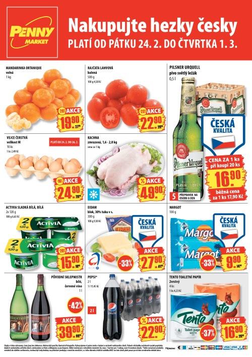 Leták Penny Market  (od 24. únor 2012 do 1. březen 20122012)