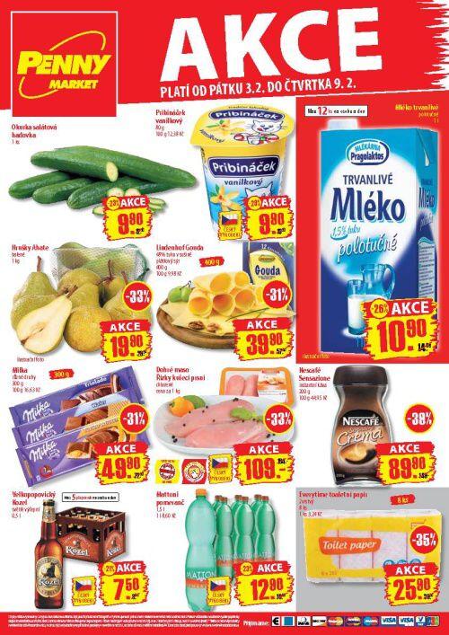 Leták Penny Market  (od 3. únor 2012 do 9. únor 2012)