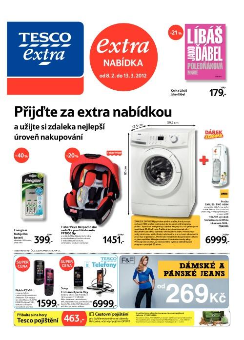 Leták Tesco Extra (od 8. únor 2012 do 14. únor 2012)