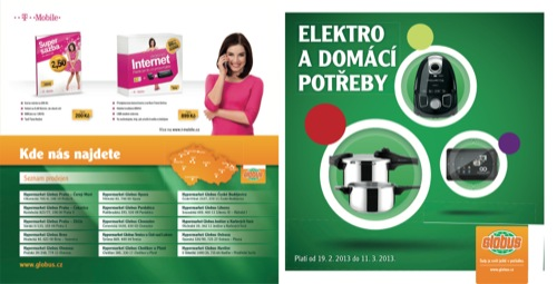 Leták Globus elektro (od 19. 2. do 27. 02. 2013)