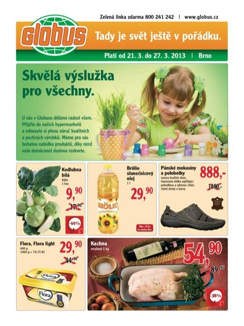 Leták Globus novinky (od 21. 3. do 27. 03. 2013)