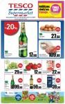 Leták Tesco supermarket (od 21. srpna 2013)