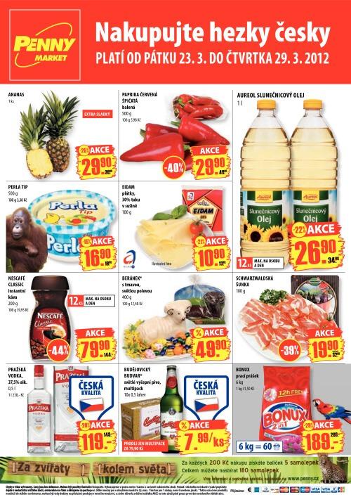 Leták Penny Market  (od 23. březen 2012 do 29. březen 2012)