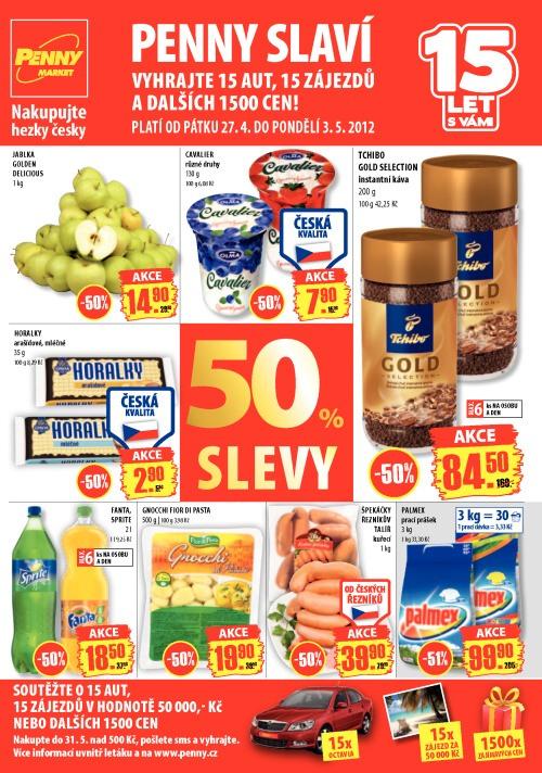 Leták Penny Market  (od 27. duben 2012 do 3. květen 2012)