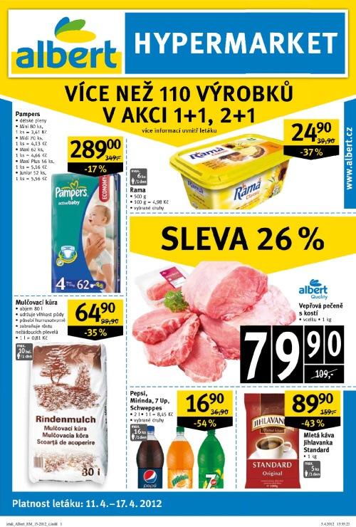 Leták Albert hypermarkety (od 11.4. do 17.4.2012)
