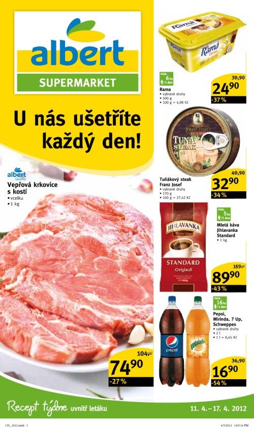 Leták Tesco supermarkety (od 10. duben 2012 do 17. duben 2012)