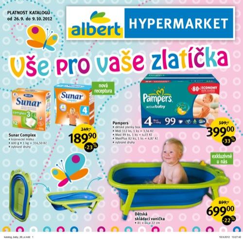 Leták Albert zlatíčka (od 26. 9. do 9. 10. 2012)