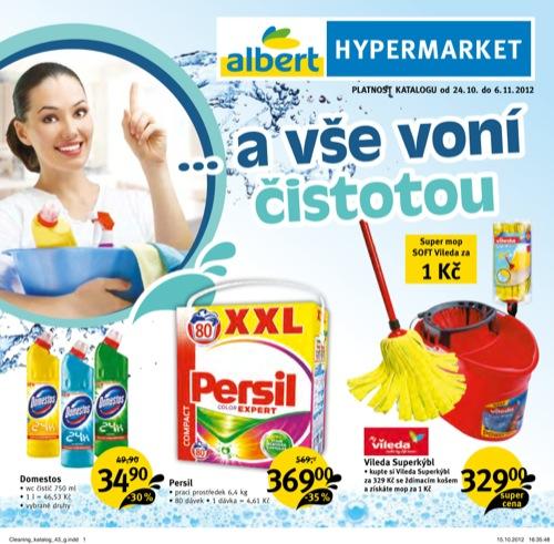 Leták Albert čistota (od 24. 10. do 6. 11. 2012)