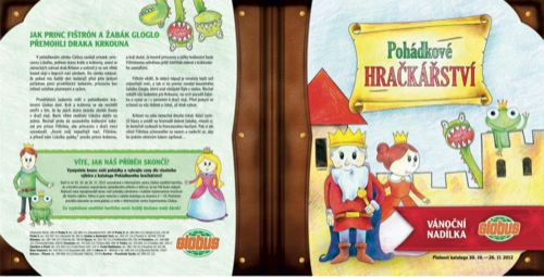 Leták Globus pohádkové hračkářství (od 30. 10. do 26. 11. 2012) q