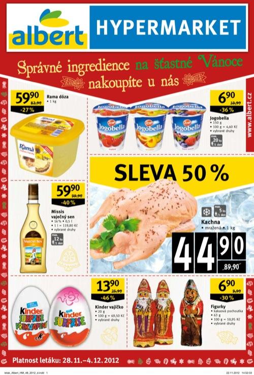 Leták Albert hypermarket (od 28. 11. do 4. 12. 2012)