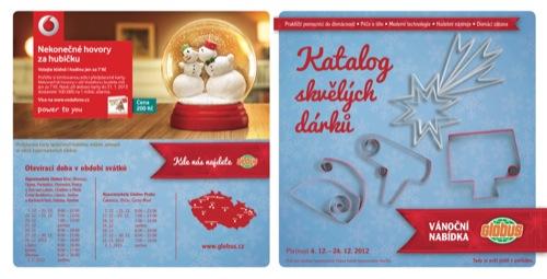 Leták Globus tipy na dárky elektro (od 4. 12. do 24. 12. 2012)
