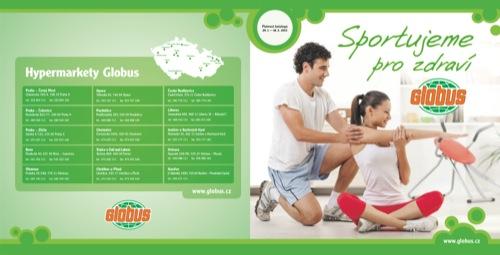 Leták Globus sportujeme pro zdraví (od 29. 1. do 18. 02. 2013)