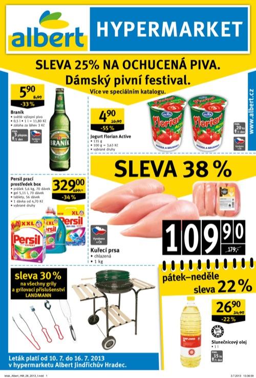 Leták Albert hypermarket (od 10. 7. do 16. 07. 2013)